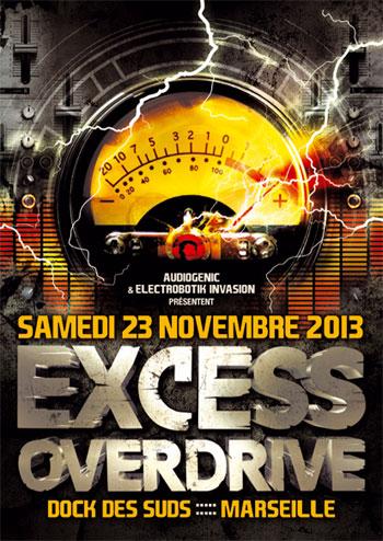 23-11-13 ►EXCESS OVERDRIVE @ Dock Des  Suds - Marseille F-23-11-13-Marseille-web