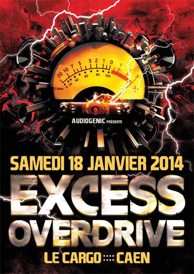 18/01/2014 EXCESS OVERDRIVE@Caen w/ Radium, Hellfish… F5-HC-ExcessOverdrive-CAEN1