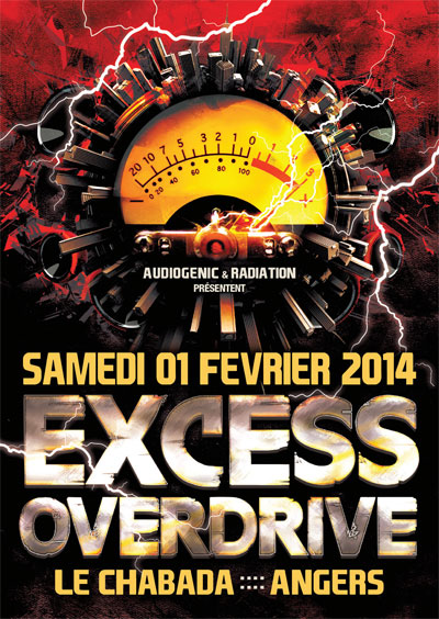 01/02/2014 EXCESS OVERDRIVE@Angers w/ Radium, Lenny Dee… F7-HC-ExcessOverdrive-ANGER