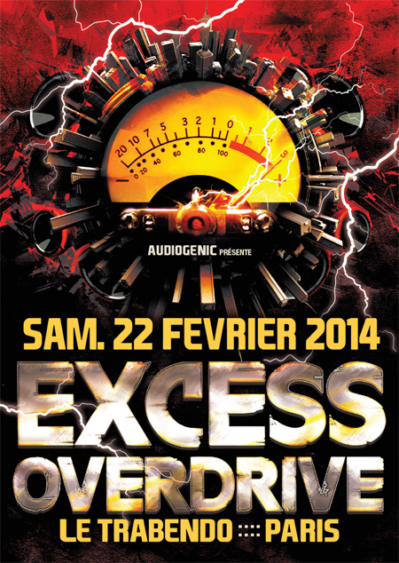 22/02 EXCESS OVERDRIVE Paris – Micropoint, Radium, Endymion F9-HC-ExcessOverdrive-PARIS