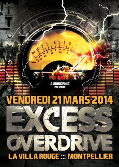 21/03 - Montpellier  - EXCESS OVERDRIVE – Micropoint, Radium FLY-MONTPELLIER