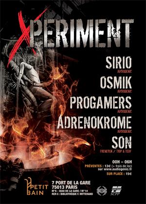 25-10-2014 // X-PERIMENT @Petit Bain - Paris/ 100% Hard Beats VF-X-periment300x418