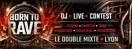 DJ CONTEST // BORN TO RAVE //  LYON  Warm-up-contest-Lyon- web