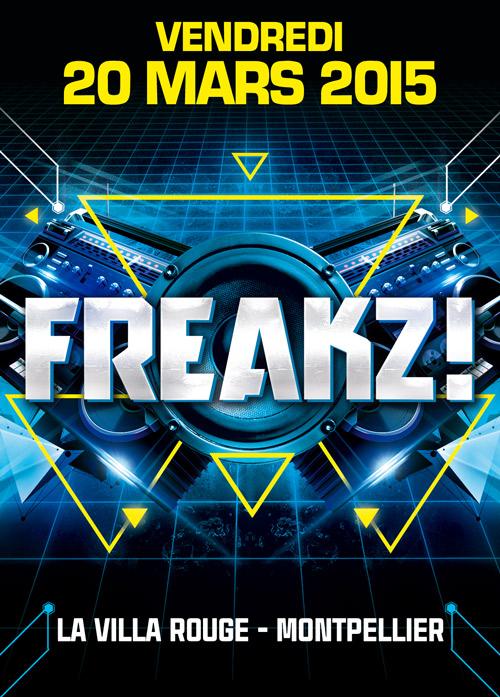 20-03-15>FREAKZ ! MONTPELLIER> TECHNO/BASS MUSIC/HARD BEATS  Fly-montpell-saul